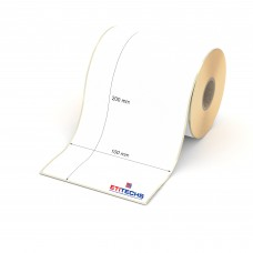 100mm x 200mm Lamine Termal Etiket (Sticker)