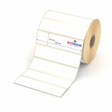 100mm x 25mm Lamine Termal Etiket (Sticker)