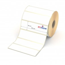 100mm x 30mm Lamine Termal Etiket (Sticker)