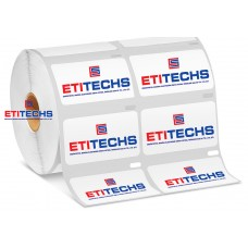 30mm x 60mm 2'li Vellum Etiket (Sticker)