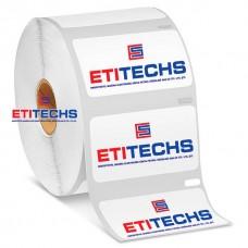 50mm x 30mm Kuşe Etiket (Sticker)