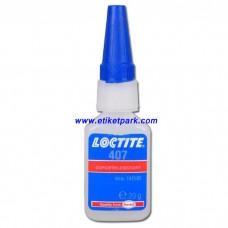 Loctite 407-Hızlı Yapıştırıcı-20 gram