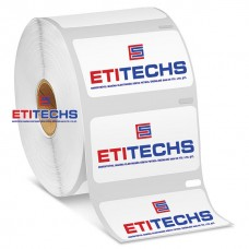 60mm x 40mm PP Şeffaf Etiket (Sticker)